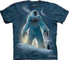 e891c4aeb897 The Mountain Yeti Abominable Snowman Adult T-shirt Yeni needs this shirt