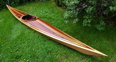Shearwater 17 Hybrid Sea Kayak: Beautiful Cedar Strip Decks, High-Performance Hulls!