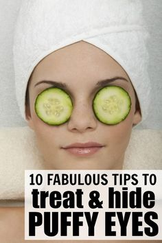 If you suffer from dry, swollen, and or/puffy eyes, these tutorials are for you. They will teach you how to treat puffy eyes naturally, how to hide under eye bags, how to cover under eye circles, and how to look fresh and awake. I find these tips to be especially effective during allergy season, but they have also worked wonders during the dry winter months!