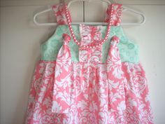 kids clothes handmade childrens clothes girls by BackPorchKids, $38.00