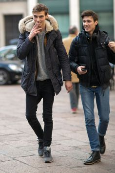 damplaundry: Max and Luca Stascheit Esken at FW F / W 2015 (via)