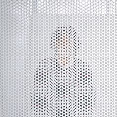 Distance of Fog by StudioGreenBlue #perforated #steel #white