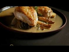 Chicken Breast and Sautéed Chicory in Marsala Sauce – Gordon Ramsay Dinner Chicken – Dinner Recipes Ramsay Chef, Chef Gordon Ramsay, Chicken Recipes Gordon Ramsay, Chicken Supreme, Marsala Sauce, Cooking The Perfect Steak, Family Fresh Meals, Gordon Ramsey, How To Cook Chicken