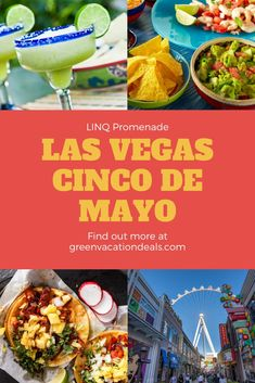 Guide to spending Cinco de Mayo at LINQ Promenade in Las Vegas, Nevada. Guide to drinks (margarita, tequila, etc) & food (Enchiladas, Tacos, etc). Plus, find out about staying at the LINQ Las Vegas hotel. Vegas travel advice. #LINQ #linqlasvegas #LINQPromenade #thelinq #CincoDeMayo #CincodeMayo2021 #LasVegas #vegasbaby #sincity #vegasbound #Vegas #Margarita #Tequila #Taquito #Enchilada #Taco #Mexicanfood Las Vegas Restaurants, French Restaurants, Las Vegas Hotels, Margarita Tequila, Jalapeno Margarita, Enchiladas, Linq Las Vegas, Tomatillo Sauce, Mexican Bread