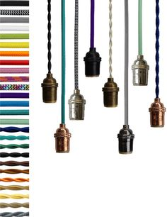 any color custom pendant lighting lamp modern industrial chandelier hardwired or plug in vintage antique cord hangout lighting by genuine