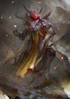 Ars Goetia – Flauros – demon concept by Daniel Kamarudin