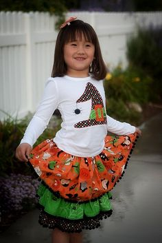 Halloween Skirt Tutorial