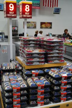 Shoppers looking to make healthy choices at this big box store shouldn't have to face a big box of cookies at checkout. (BJ's, 6/16, Falls Church, VA)