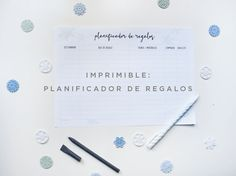 Planificador de regalos, ideal para Navidad y Reyes. Agenda Planner, Ideas Hogar, Notebook, Bullet Journal, Printables, Tips, Aniversary Ideas, Reyes, Planners