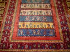 #28: 4 x 6 Persian Lori rug. Sold.