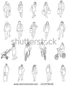 drawing of people