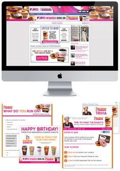 Pitch for Dunkin Donuts and z100 Clear Channel New York. Presenting Sponsorship of one of the nation's top radio rewards clubs. Created a marketing plan that included supporting rewards elements such as a birthday email offer, points earning surveys and trivias, and user-generated contests.