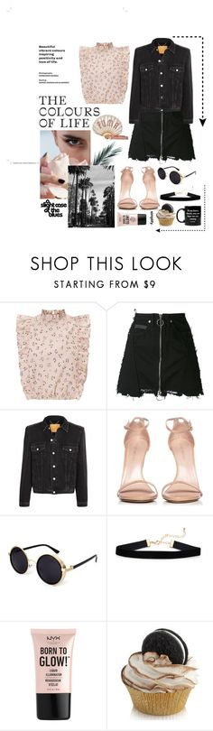 """Love"" by ali-0 ❤ liked on Polyvore featuring County Of Milan, Balenciaga, Puma, Stuart Weitzman, NYX and Jac Vanek"