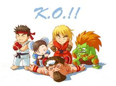 K.O.!! - Street Fighter