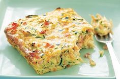 Hot or cold, this slice makes a great lunch box filler for kids and adults alike!