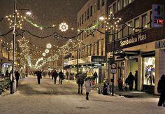 Winter in Kristiansand Norway Kristiansand Norway, Street View, Winter, Winter Time, Winter Fashion