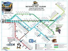nice Cape Town Metro Map