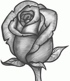 Simple rose drawing how to draw a rose bud rose bud step simple lotus flower drawing . simple rose drawing a single rose tattoo Rose Drawing Simple, Simple Rose, Drawing Of A Rose, Easy Rose, Rose Sketch, Flower Sketches, Drawing Flowers, Flower Drawings, Rose Pencil Sketch