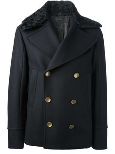 Love the Diesel Black Gold short double-breasted coat on Wantering | Gifts for Him | mens double breasted jacket | mens coat | black | menswear | mens style | mens fashion | wantering http://www.wantering.com/mens-clothing-item/short-double-breasted-coat/adkmI/