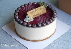 1 個讚好,0 則回應 - Instagram 上的 Joannie Chan(@joannie_chan):「 Double cheesecake ( Japanese souffle cheesecake +  no-bake  cheesecake) #homebaked… 」 Birthday Cake, Desserts, Food, Tailgate Desserts, Birthday Cakes, Deserts, Meals, Dessert, Yemek