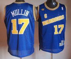 a6a54e5ecde Warriors  17 Chris Mullin Blue Throwback Stitched NBA Jersey Soccer Jerseys