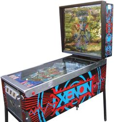 "Bally ""Xenon"" pinball machine"