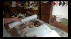 Nathalie Delarge - YouTube Freezer paper - partie 1