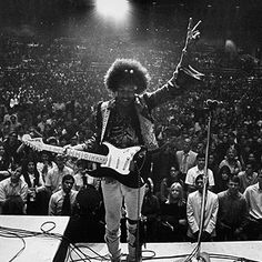 And he played a wicked guitar as well...Hendrix