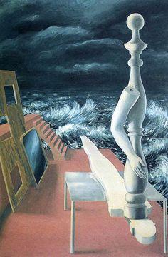 La naissance de l'idole by René Magritte, 1926