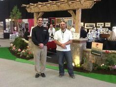 Scott and Gino...representing Huntersprings landscaping company