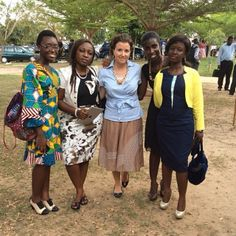 Kumasi, GHANA- Missionary sister and Full Time preachers of God's Word at a Circuit Assembly together.