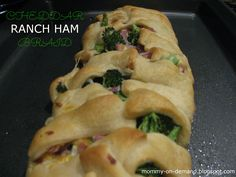 A great way to use up some  leftover ham from Easter