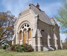 Abandoned chapel, ( crypt )