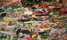Vintage Barkcloth Fabric at The Florida Show - Antiques Collectibles