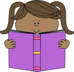 child reading clip art child reading image education pinterest rh pinterest com child reading a book clipart clipart children's reading books