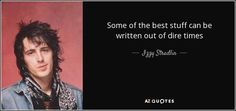 """Discover Izzy Stradlin famous and rare quotes. """"Some of the best stuff can be written..."""""""