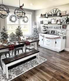 Home Interior Living Room I spy with my little eyes.a naughty little elf! Is the elf on the shelf a tradition in your house? What are your best silly elf suggestions? Farmhouse Christmas Decor, Christmas Home, Farmhouse Decor, Modern Farmhouse, Coffee Kitchen Decor, Christmas Kitchen Decorations, Kitchen Decor Themes, Rustic Christmas, Rustic Kitchen