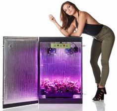 Grandma's secret garden is a stealth indoor gardening grow box capable of growing 9 plants. This hydroponics system is stealth, turnkey, and easy to use.