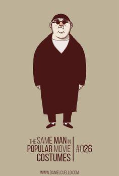 The same man in popular movie costumes (danielcuello.com)
