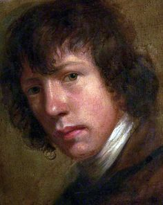Notable Selfie! John Opie (1761–1807), c.1785. English historical and portrait painter. He painted many great men and women of his day, most notably in the artistic and literary professions.508 portraits in all, most in oil, and 252 other pictures. Buried at St Paul's Cathedral, in the crypt next to Joshua Reynolds, as he had wished.