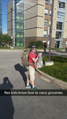 Who needs a car when you have transit and a backpacking bag?