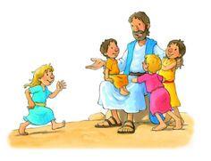 Tipo Sem Tipo: **((troca atividade biblica))** JESUS E AS CRIANÇAS