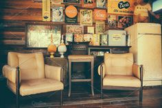 Retro Living Room by Inspirationfeed on @creativemarket