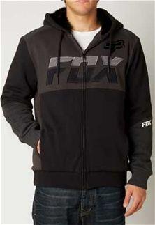 Fox Racing Mako Sasquatch Full-Zip Hoody in Black for Men