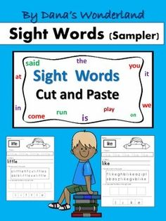 This free product contains 10 sight word worksheets with one sight word per page…