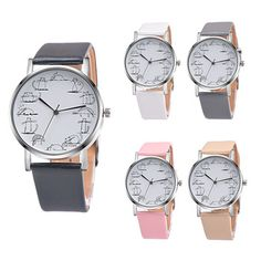 Xiniu Relogio Feminino Retro style Lovely Cartoon Cat Leather Quartz Analog Women Watch Casual Ladies Watches Quartz Wrist Watch  Price: 1.67 USD