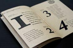 Caslon Type Specimen Book on Behance