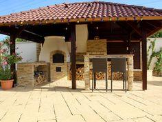 Kemax - Szolnoki kerti konyha Outdoor Cooking, Pergola, Outdoor Structures, Arbors