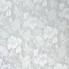 Silver & White Floral Foil Wrap Price $5.95