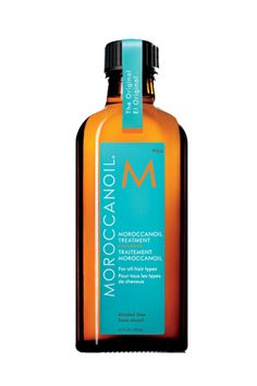With it's warm, deep scent, you'll be transported to a Mediterranean beach once you smooth on this argan oil blend into your hair. Plus, it gives it strength and shine to boot. Win, win, win. Morrocanoil Treatment, $14.80; nordstrom.com.   - MarieClaire.com